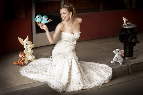 Nothing says 'I'm an adult ready for marriage' like cartoon animals.