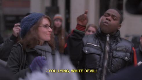 white devil!